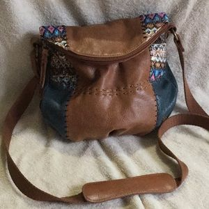 The Sak Bag purse Patch work leather